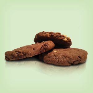 Double Choc. Alond Cookie 30